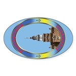 Pennsylvania Freemason Oval Sticker