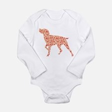 Unique Pointer Long Sleeve Infant Bodysuit