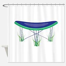 Trampoline Shower Curtain