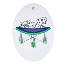 Jump It Up Ornament (Oval)