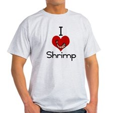 I love-heart shrimp T-Shirt