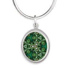 Emerald Triquetra Necklaces