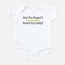 Hugged Cement Guy Infant Bodysuit