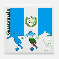 Guatemala Soccer Tile Coaster