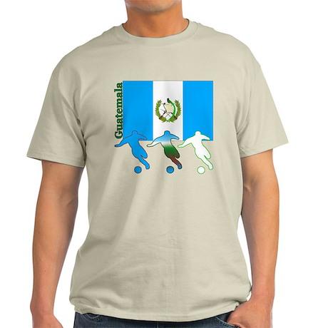Guatemala Soccer Light T-Shirt