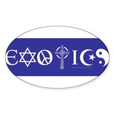 EXOTICS bumper sticker Decal