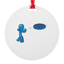 Frisbee Man Ornament