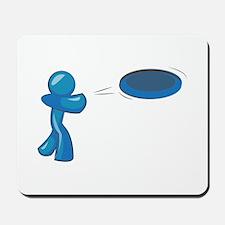 Frisbee Man Mousepad