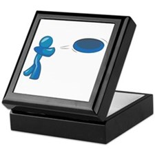 Frisbee Man Keepsake Box