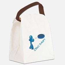 Disc Man Canvas Lunch Bag