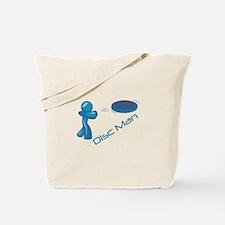 Disc Man Tote Bag
