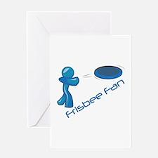 Frisbee Fan Greeting Cards