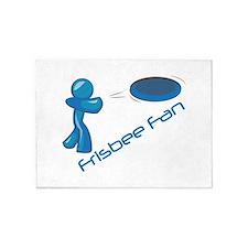 Frisbee Fan 5'x7'Area Rug
