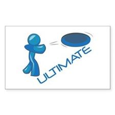 Ultimate Frisbee Decal