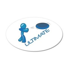 Ultimate Frisbee Wall Decal