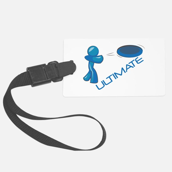 Ultimate Frisbee Luggage Tag