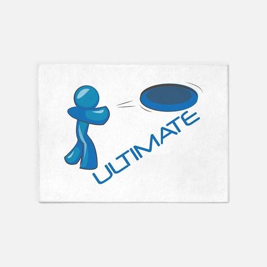 Ultimate Frisbee 5'x7'Area Rug