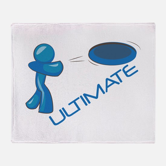 Ultimate Frisbee Throw Blanket
