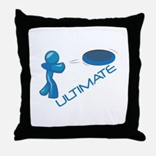 Ultimate Frisbee Throw Pillow