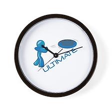 Ultimate Frisbee Wall Clock