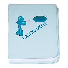 Ultimate Frisbee baby blanket