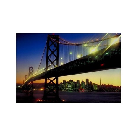 SF Darkness Rectangle Magnet (10 pack)