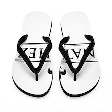 Natchez ~ Fluer de Lis Flip Flops
