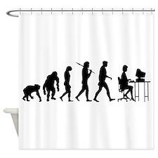 Software Programmer Shower Curtain