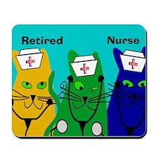 Retired Nurse FF 6 Mousepad