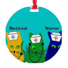 Retired Nurse FF 6 Ornament