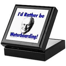 Waterboarding Cheney Keepsake Box