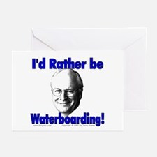 Waterboarding Cheney Greeting Cards (Pk of 10)