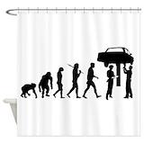 Auto mechanic Shower Curtains