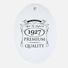 Cute 90th birthday Oval Ornament