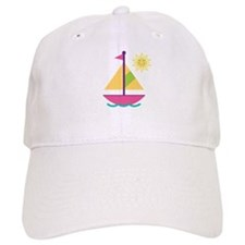 Sailboat Girls Sailing Baseball Baseball Cap