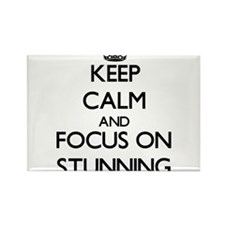 Keep Calm and focus on Stunning Magnets