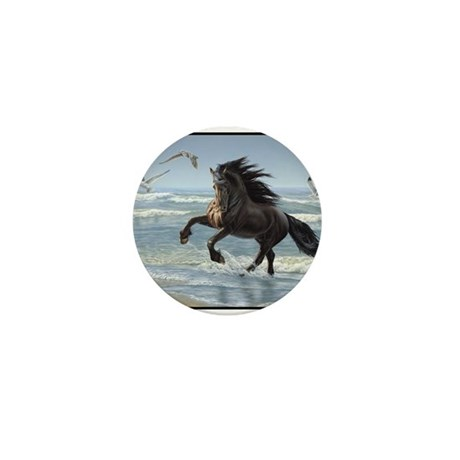 Friesian - Splash Dance Mini Button