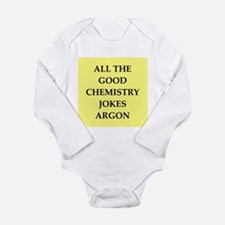 CHEMISTRY joke Long Sleeve Infant Bodysuit