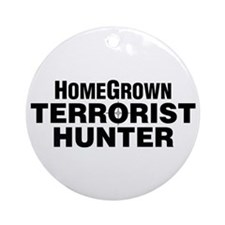 Homegrown Terrorist Ornament (Round)