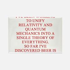 physics joke Rectangle Magnet
