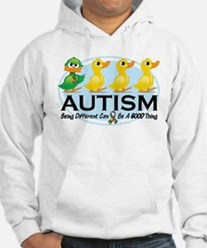 Autism-Ugly-Duckling-White.png Hoodie