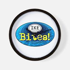 IKE BITES Wall Clock