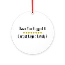 Hugged Carpet Layer Ornament (Round)