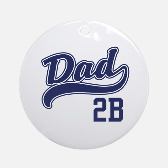 Dad To Be Ornament (Round)