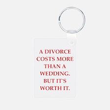 divorce Keychains