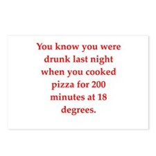 drunk Postcards (Package of 8)