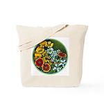 Summer Circle Tote Bag