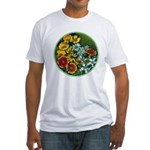 Summer Circle Fitted T-Shirt