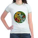 Summer Circle Jr. Ringer T-Shirt