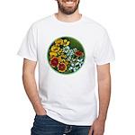 Summer Circle White T-Shirt
